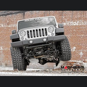 "Jeep Wrangler JK Unlimited Suspension Lift Kit w/Vertex Reservoir Shocks - 4"" Lift"